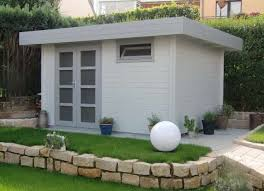 gartenhaus design flachdach moderne gartenhäuser kaufen über 100 design gartenhäuser