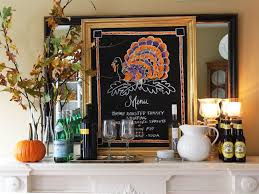 thanksgiving chalkboard menu diy