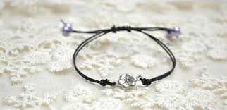 black bracelet women images How to make black leather bracelets for women jpg