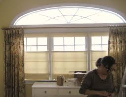 the drapery shop custom made top down bottom up roman shades