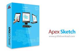 دانلود apex sketch pro v6 0 151 1 نرم افزار رسم و تجزیه و تحلیل نقشه