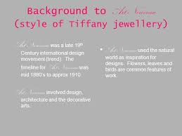 Art And Design Movements Timeline Jewellery Design Ppt Download