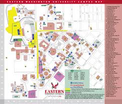 University Of Utah Campus Map by Eastern Washington University Parking Portal