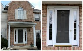 How To Decorate A Brand New Home Architecture Luxury Brown Wooden Front Entry Door With Glass
