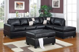claire leather reversible sectional and ottoman claire leather reversible sectional and ottoman assorted colors