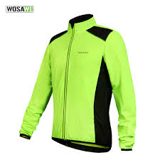 hi vis cycling jacket waterproof wosawe men women cycling jacket waterproof bicycle bike rain coat