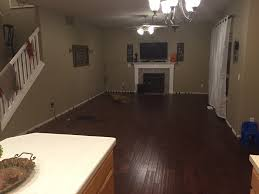 Can I Glue Laminate Flooring How Can I Secure Fasten A Half Installed Floating Engineered