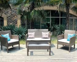 monaco brown rattan sofa set gardiner haskins
