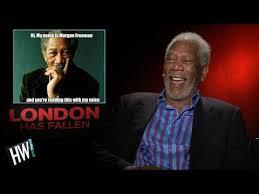 Morgan Freeman Memes - morgan freeman reacts to funny memes of himself youtube