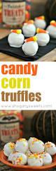 candy corn oreo truffles shugary sweets