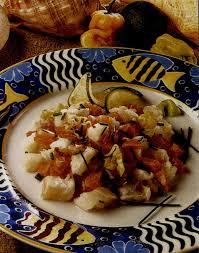 cuisine tahitienne recette cabillaud et saumon crus à la tahitienne