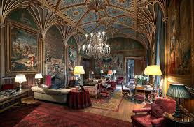 meetings conference venue herefordshire eastnor castle the gothic drawing room