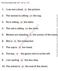 ideas about basic prepositions worksheets for kids wedding ideas