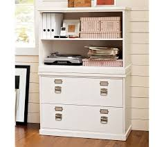 Lateral File Cabinet With Storage Bedford Lateral File Cabinet Pottery Barn