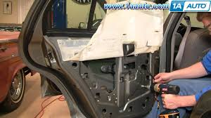 cool how to install replace rear power window regulator crown