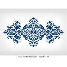 vector vintage baroque calligraphy border frame card ornament flower