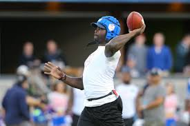 Flag Football Leagues Michael Vick Throws Eight Td Passes In American Flag Football