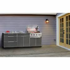 Newage Products Stainless Steel Classic 7 Piece 86x36x86 In by Newage Cabinets Outdoor Bar Cabinet