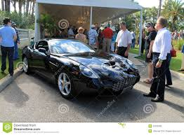 rare ferrari very rare modern ferrari sports car editorial stock photo image