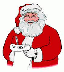 animated santa shamrock inn animated santa clause checking list again