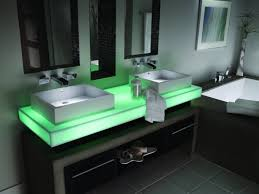 Led Bathroom Faucet by Bed U0026 Bath Luxury Waterfall Faucet For Great Unique Bathroom