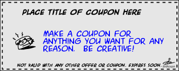 sendacoupon com make your own custom coupons online