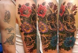 cover up ideas skull cover up tattoos skullspiration