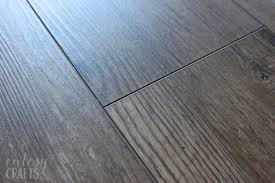 is vinyl flooring or bad my vinyl plank floor review two years later cutesy crafts