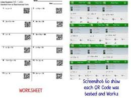 codes linear equations standard to slope intercept worksheet practice
