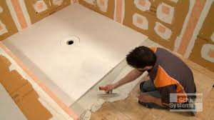 bathroom white schluter kerdi shower kit for bathroom flooring ideas