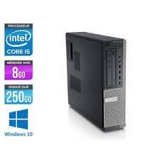 acheter ordinateur bureau pc bureau w10 professionnel achat vente pas cher