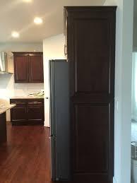 Samsung Cabinet Depth Refrigerator Refrigerator Dilemma Counter Depth Or Standard At End Of Run