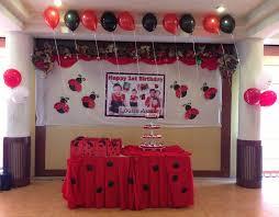 ladybug themed party for louise u0027s 1st birthday at sugbahan cebu