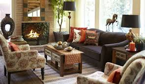 pillows and textiles reflect fall autumn inspired interior