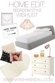 home edit bedroom decor wishlist natasha kendall