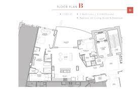 floor plan b the george at 42