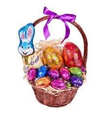 Easter Basket Delivery Easter Egg Basket Sending Auckland Wide For Easter