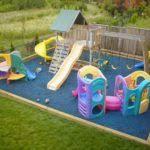 Backyard Play Ideas Best 25 Diy Playground Ideas On Pinterest Hopscotch Playground