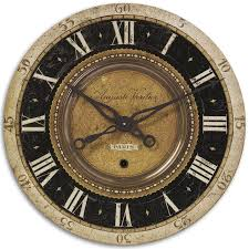 Oversized Clocks by Bordeaux Wall Clock For Decorating U2013 Wall Clocks
