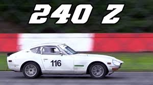 datsun race car nissan datsun 240z racecar 2017 race 4 zolder youtube