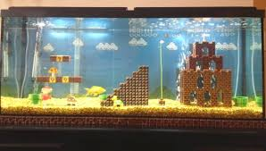 DIY Super Mario Aquarium Decor petdiys