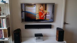 hide cable box wall mount tv professional tv wall mount tvonmywall