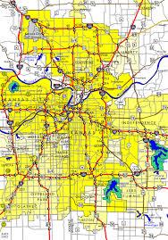 kansas city metro map of kansas city