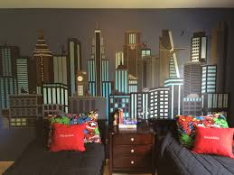 super hero wall mural for boys room created by carissa rupp super hero wall mural for boys room created by carissa rupp contains thor
