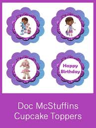 doc mcstuffins party creative printables