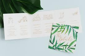 tropical wedding invitations modern tropical destination wedding invitations coral pheasant