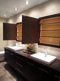 recessed option of bathroom medicine cabinets with mirror