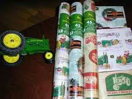 deere wrapping paper used farm tractors for sale deere christmas gift wrap 2004