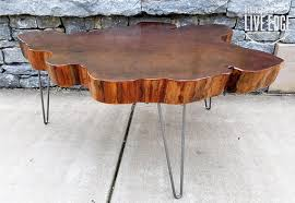 big coffee table big round coffee table live edge slab table tree round tree