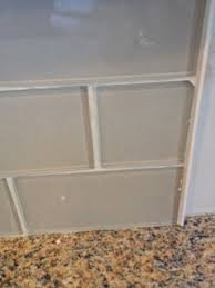 Glass Tile Installation Glass Tile Install Issue